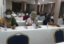 Participants at the meeting