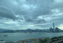 Photo shows a view of the Victoria Harbour, Hong Kong. (Photo by Cheng Long/People's Daily)