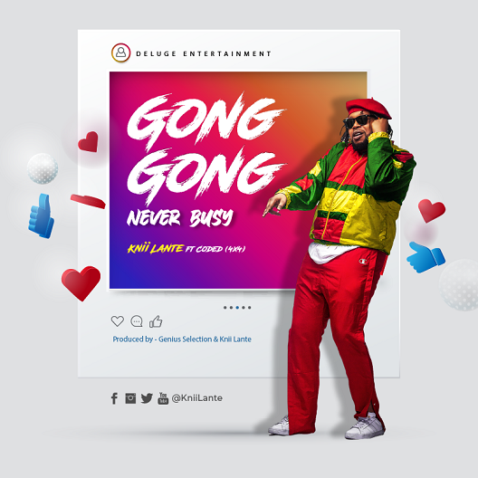 gong gong never busy social icons