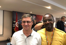Ifj President Younes M'Jahed and Affail Monney