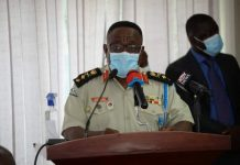 Major General Francis Ofori, Commandant,