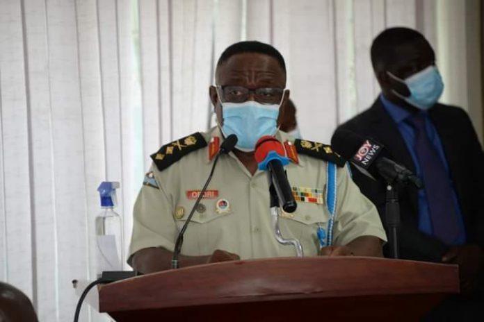 Major General Francis Ofori, Commandant,