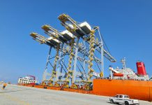 ship-to-shore gantry cranes