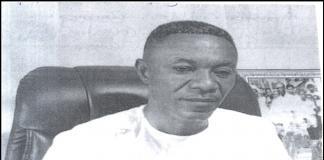 Apostle Godbless Boateng, General Overseer of Cornerstone Bible Church International, Kumasi.