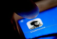 "ILLUSTRATION - Facebook wants in: The invite-only audio chat app Clubhouse has made waves in recent months with a platform that allows users to listen to or join conversations in audio chat ""rooms"". Photo: Zacharie Scheurer/dpa"