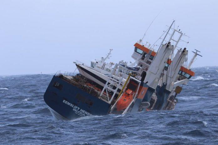 Dutch cargo ship