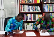 Kandifo Institute signs five year MoU with USAG