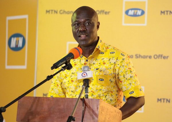 General Manager of MTN Mobile Money, Eli Hini
