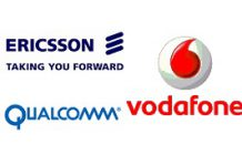 Ericsson-Vodafone-Qualcomm
