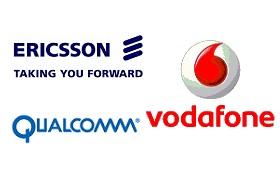 Ericsson-Vodafone-Qualcomm