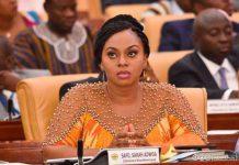 Hon. Sarah Adjoa Sarfo.