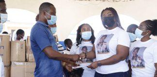 Gospel musician donation