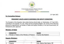 President Deputy Ministers