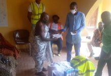 Ebenezer Agyeman donation