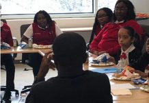 Jeff Badu and disadvantaged youth