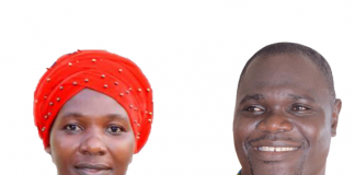Khadija Anderson and her husband Ike Lord Enu