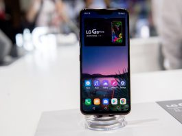 FILED - LG wants to provide Android updates for its phones (like the G8 ThinQpictured here)for three years after purchase, even after it stops making phones. Photo: Andrea Warnecke/dpa