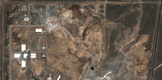 "FILED - Satellite image from July 21, 2004 of the Natanz nuclear facility in Iran. Iran's nuclear authorities have reported an overnight ""incident"" at the country's Natanz nuclear site. Photo: DigitalGlobe/dpa"