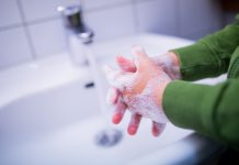 FILED - After a year of hygiene advice during the pandemic, dermatologists are sounding the alarm that constant hand washing with soap is leading to more eczema. Photo: Rolf Vennenbernd/dpa