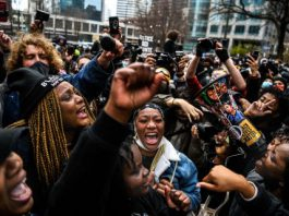 People respond to Derrick Chauvin verdict in Minneapolis