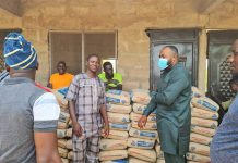 MP donates cement