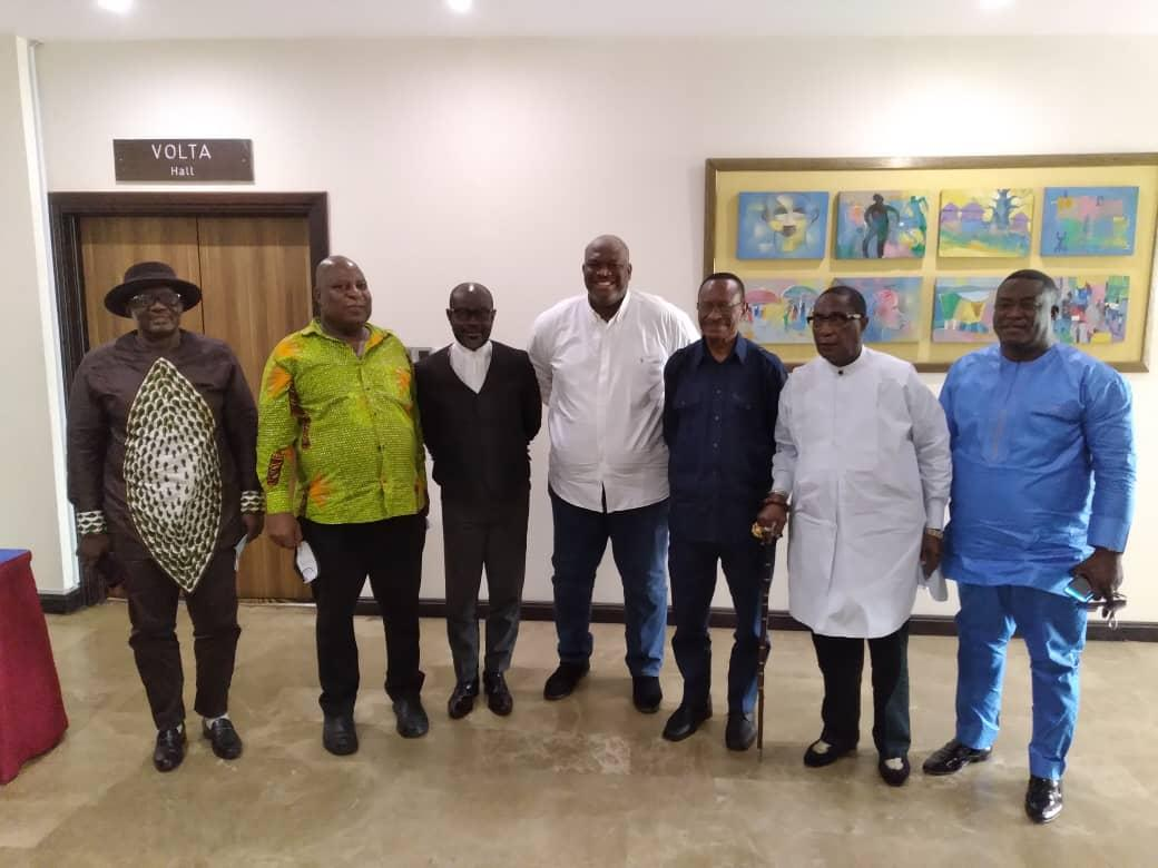 Former Greater Accra Regional Ministers pledge support for current Minister