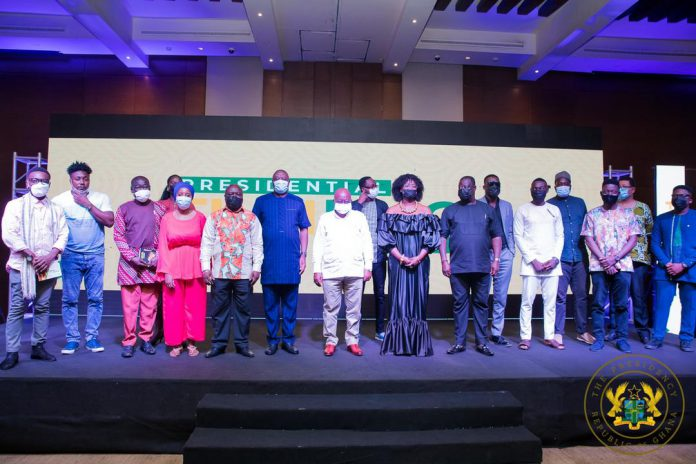 President Akufo-Addo in a photograph after the event