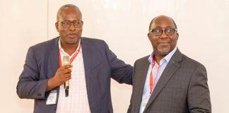 Prof. Fred McBagonluri, President of Academic City and Prof. Winston Oluwole Soboyejo, Provost and Senior Vice President of WPI