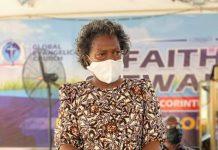 Reverend Dr Mrs Joseline Fugar