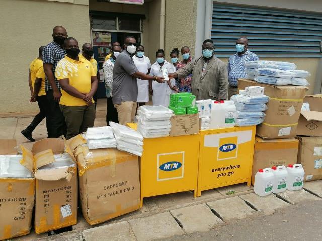 MTN Donation to Hospital