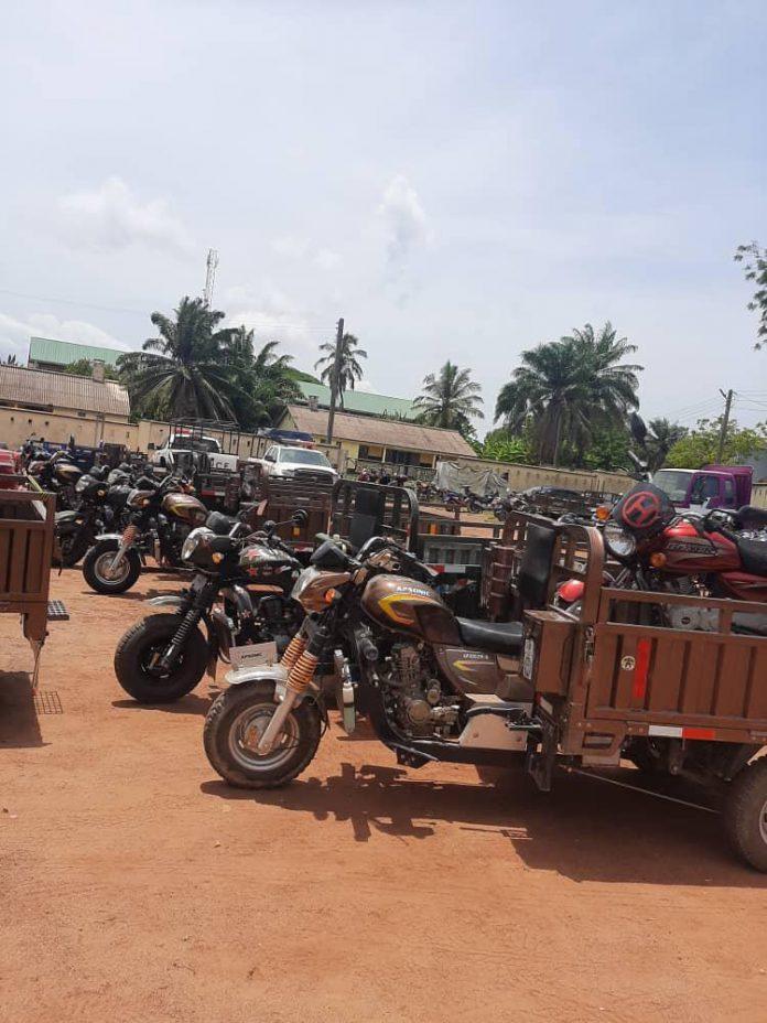 MTTD Arrest Motorbikes