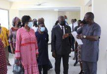 Minister Visit