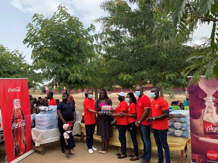 Coca Cola donation