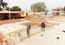 Construction of District Police Station progresses steadily