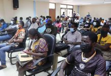 Mobile Money vendors sensitised