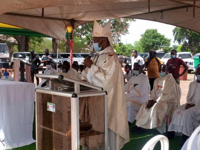 Most Reverend Richard Kuuia Baawobr