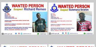 Suspects Recapture