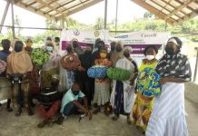 The cooking bags are to help the women in food preparation and preservation