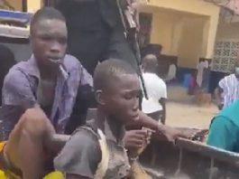 Teenagers in Kasoa ritual murder