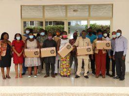 14 CSOs receive 42 Laptops