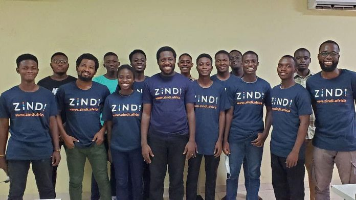 Aspiring data science students work on UmojaHack Africa 2021 problems at their universities across Africa. Image credit: Zindi.