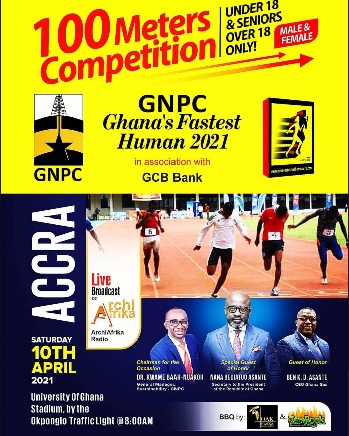 Ghana' Fastest Human Competition