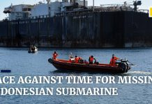 missing Indonesian submarine