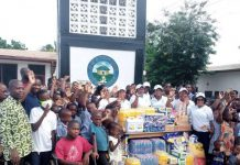 Group donates to Abor Orphanage home