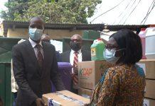 Imperial General Assurance donates COVID-19 preventive items