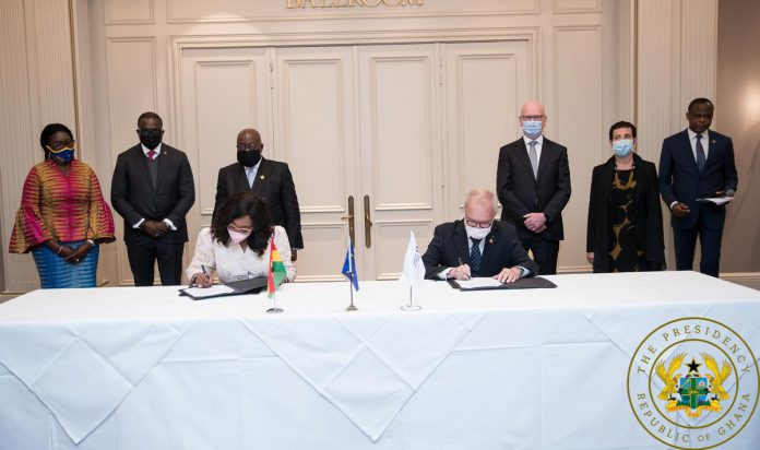 Ghana signed an agreement with President of European Investment Bank