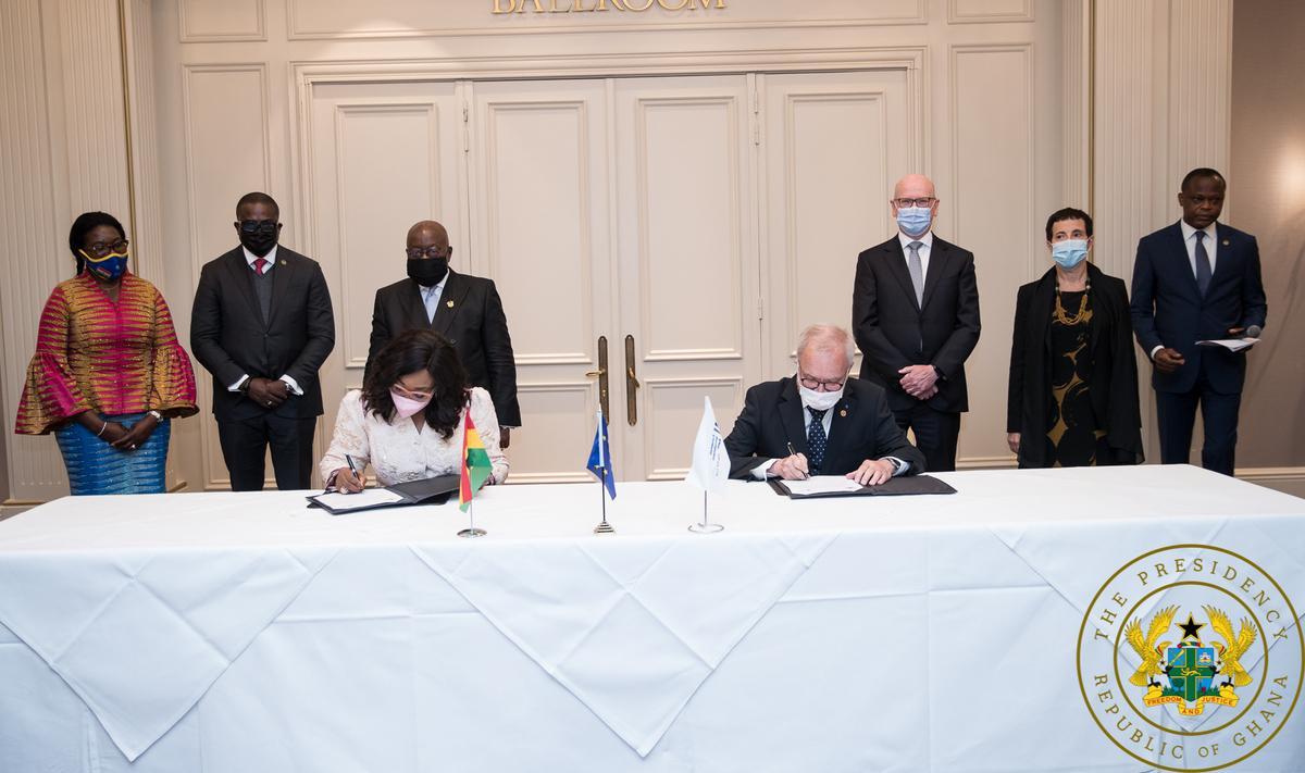 Ghana secures €170 million for new national bank