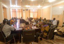 members of the strategic development planning committee of the Bolgatanga Technical University inaugurated