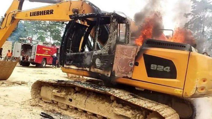 Excavators Destruction