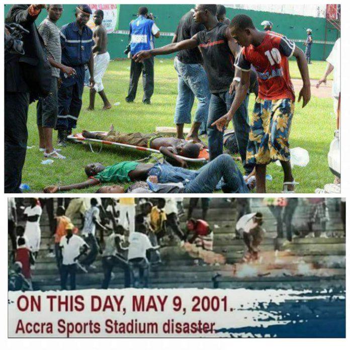 May 9th football disaster